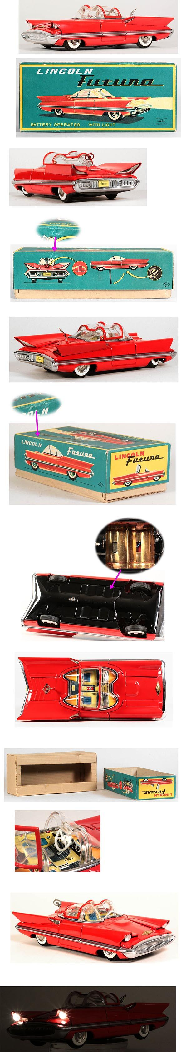 1955 Alps, Battery Operated