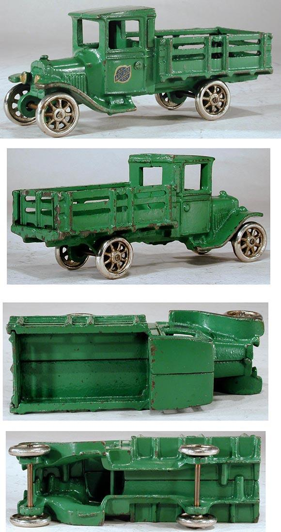 1926 Arcade, No.203 Cast Iron Ford Model-T Stake Truck