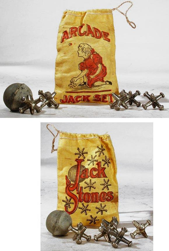 1923 Arcade Jack Set in Original Bag
