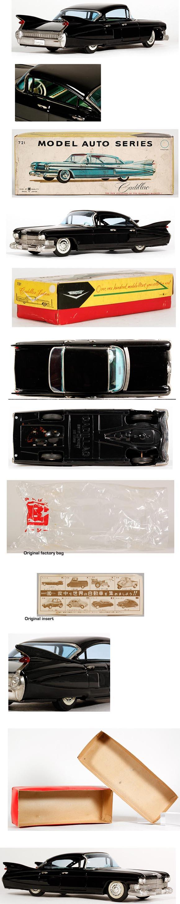 1959 Bandai, Cadillac Sedan de Ville in Original Box
