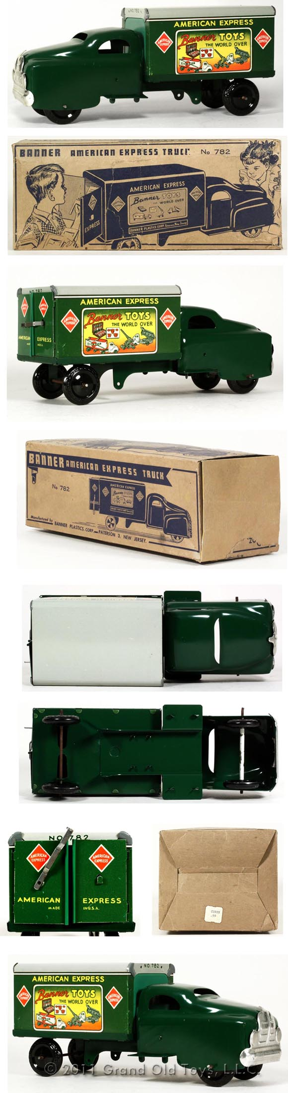 1951 Banner American Toy Express Truck In Original Box