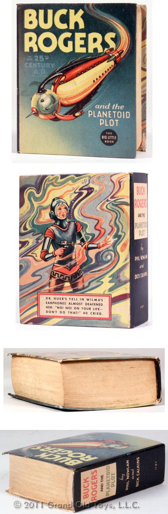 1936 Buck Rogers The Planetoid Plot Big Little Book