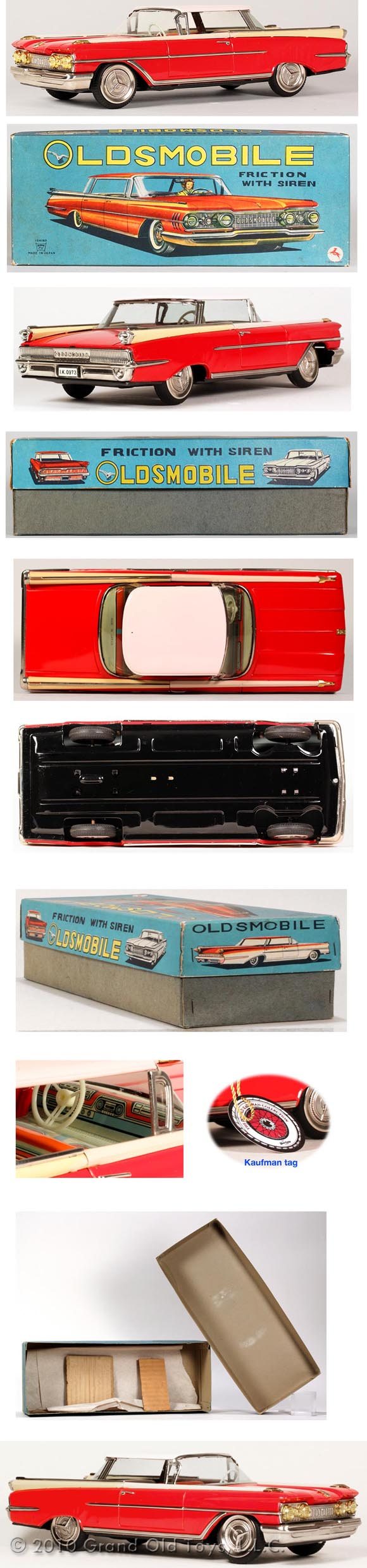 1959 Ichiko, Oldsmobile-88 2dr. Hardtop In Original Box