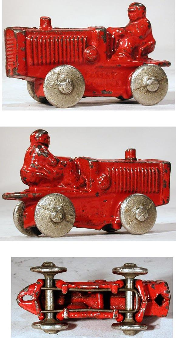 1931 Kilgore, No. T-80 Cast Iron Tractor