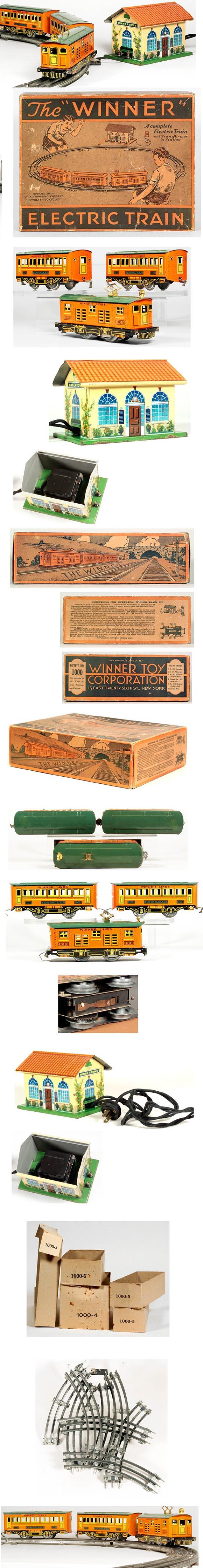 1930 Lionel, Winner Toy Corp. Train Set in Original Box