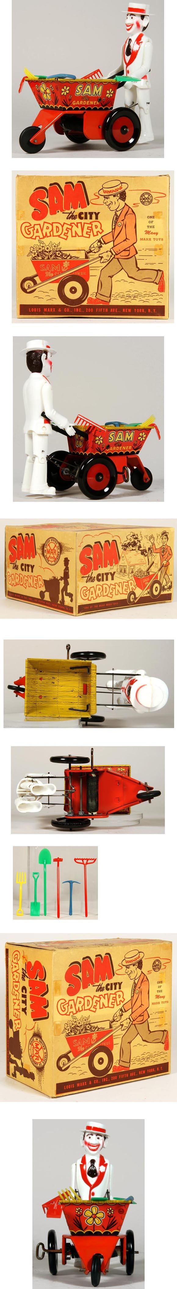 c.1948 Marx Sam The City Gardener In Original Box