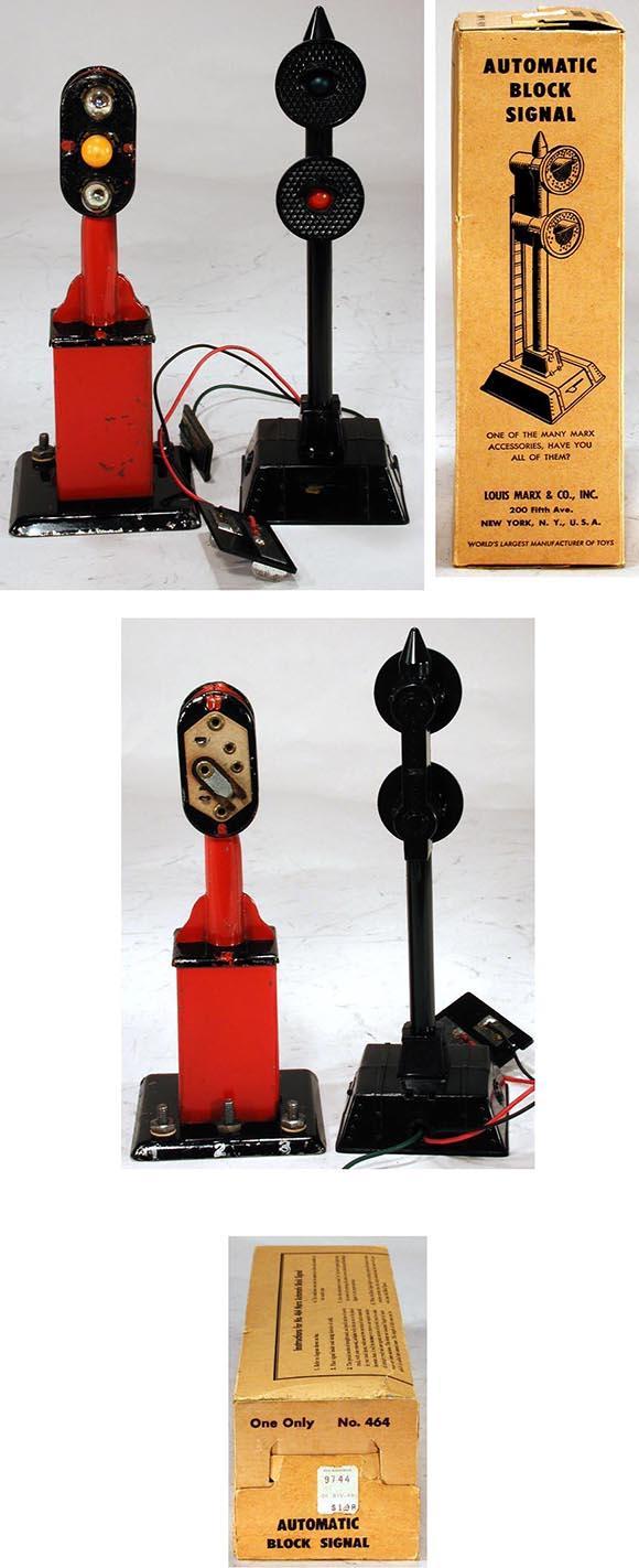 Details Toydb Wiring Lionel Block Signal 1938 1957 Marx Two Automatic Signals