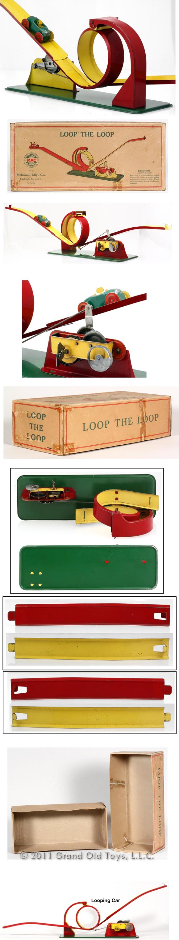 1925 McDowell, Loop The Loop In Original Box