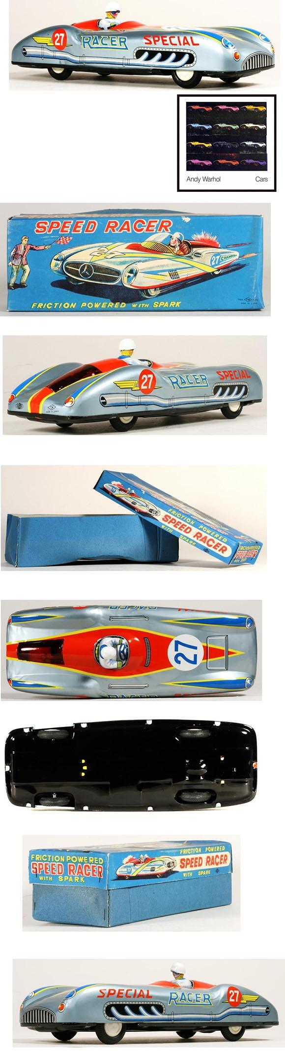 1955 Nomura, Mercedes Benz W196 Speed Racer in Original Box