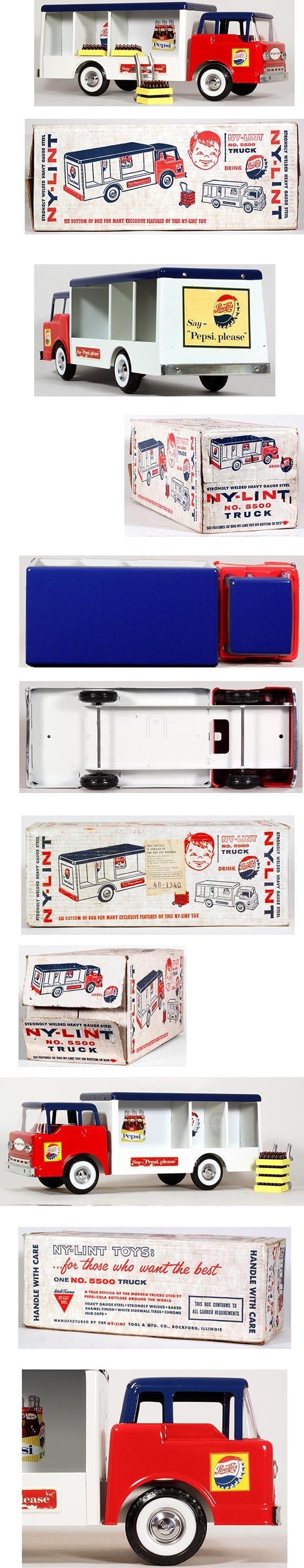 1962 Nylint, Pepsi (Ford) Delivery Truck in Original Box