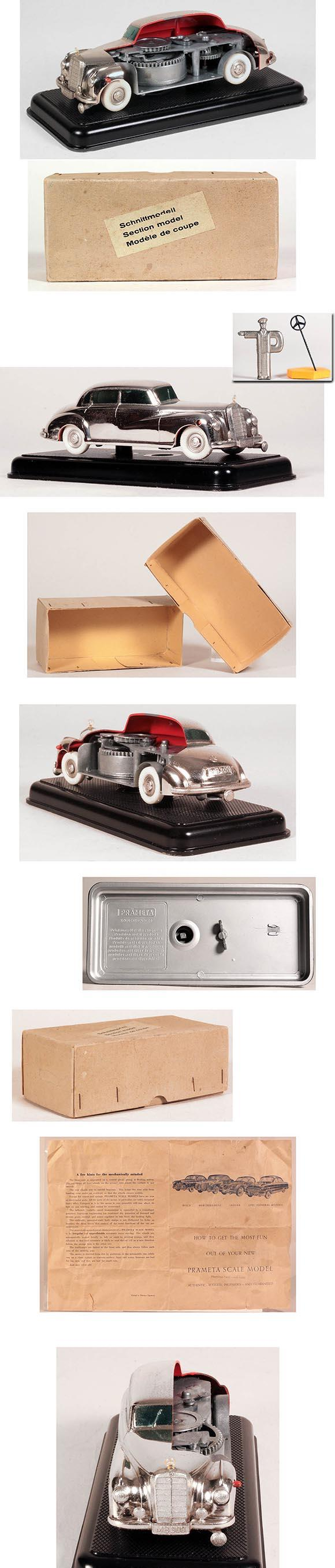 1951 Kolner (British Zone, Germany), Cut-Away Prameta Mercedes Benz 300 in Original Box