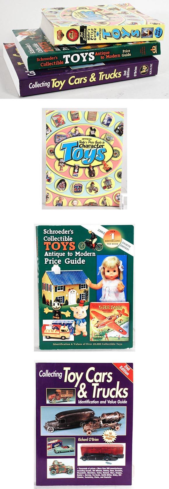 Three Antique Toy Collecting Guides
