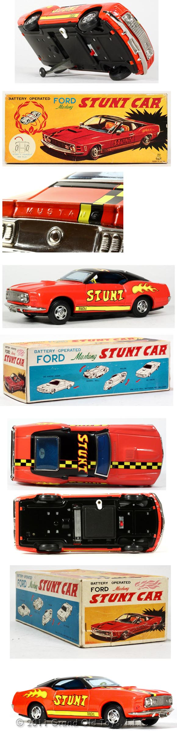 1970 TPS Ford Mustang Stunt Car In Original Box