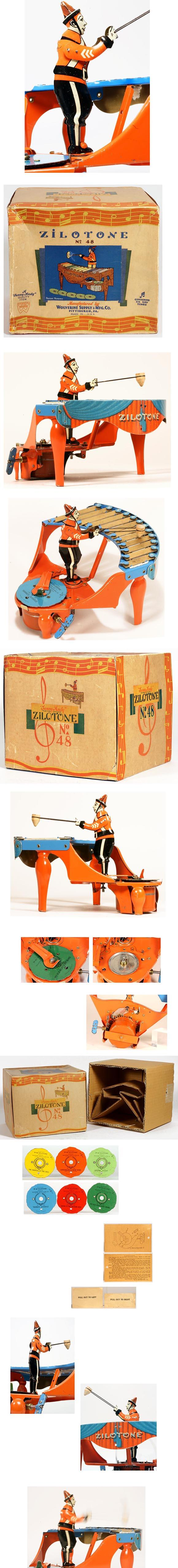 c.1930 Wolverine, No.48 Zilotone in Original Box
