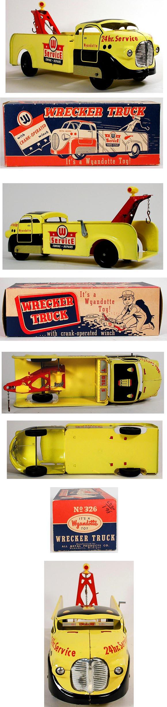 1951 Wyandotte, 24hr. Service Wrecker Truck in Original Box