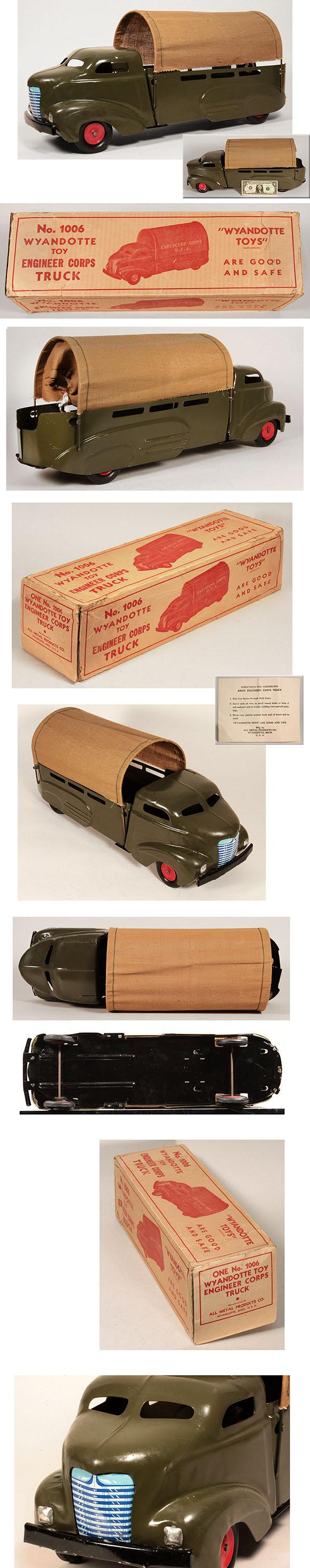 1941 Wyandotte, No.1006 Army Engineer Corps Truck in Original Box