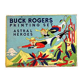 1935 Stamper Kraft Co., Buck Rogers Astral Heroes Printing Set