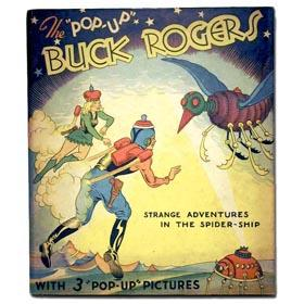 1933 Pleasure Books, Buck Rogers Pop-Up Book 1933