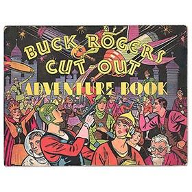 1933 Buck Rogers, Cut-Out Adventure Book