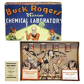 1937 Gropper Mfg. Co., Buck Rogers 25th Century Chemical Laboratory
