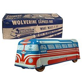 1950 Wolverine, No.26a Mystery Motor Express Bus in Original Box