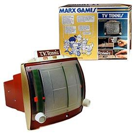 1974 Marx Games, T.V. Tennis in Original Box
