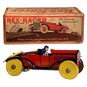 1923 Marx, Rex-Racer The Speedy Automobile in Original Box