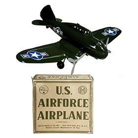 1950 Marx, U.S. Airforce Airplane in Original Box