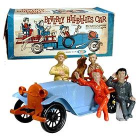 1963 Ideal, Beverly Hillbillies Mechanical Car in Original Box
