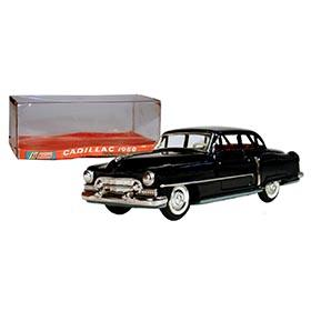1950 Shioji, Cadillac 4-Door Tin Litho Sedan in Original Box