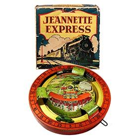 c.1926 Jeannette Toy & Novelty Co., Jeannette Express in Original Box