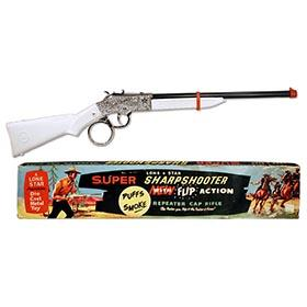 c.1965 Lone Star Super Sharpshooter Repeater Cap Rifle in Original Box