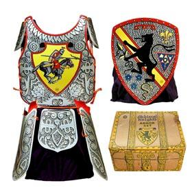 c.1955 Marx, Medieval Knights Armor Set in Original Box