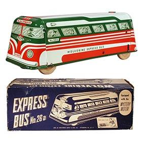 1950 Wolverine, Mystery Motor Express Bus No. 2 in Original Box