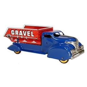 1940 Marx,  Sand and Gravel Dump Truck