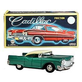 1960 Linemar, Friction Cadillac in Original Box
