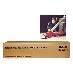 1978 Nylint, No.880 Aerial Hook-N-Ladder, Factory Sealed in Original Box