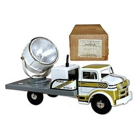 1955 Marx, No.4474 Mobile Searchlight Truck in Original Box