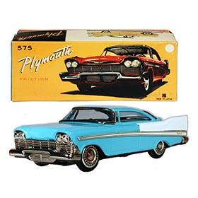 1958 Bandai, Plymouth Fury Hardtop in Original Box