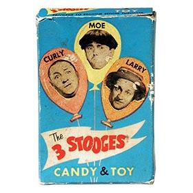 1959 The 3 Stooges Candy & Toy Box