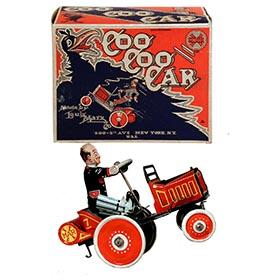 1931 Marx, Coo Coo Car in Original Box