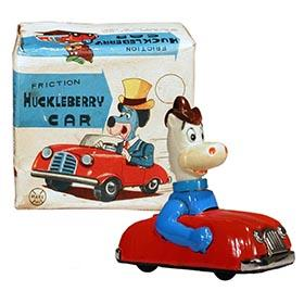 1962 Marx, Quick Draw McGraw Car in Original Box