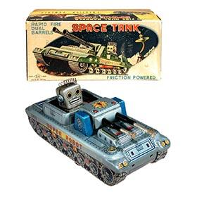 c.1955 Horikowa, Super Robot Space Tank in Original Box