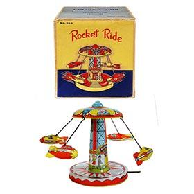 c.1957 Chein, No. 260 Rocket Ride in Original Box