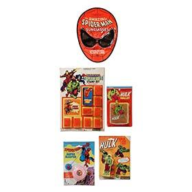 1977-78, 5 Marvel Superhero Toys