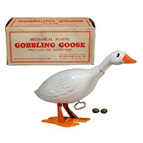 c.1951 Marx, Mechanical Gobbling Goose in Original Box