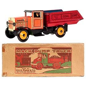 1934 Marx City Coal Co. Dump Truck in Original Box