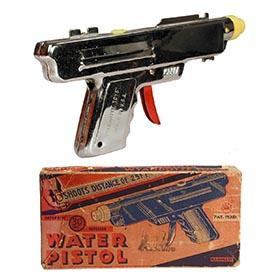 1947 Wyandotte, 30 Shot Repeater Water Pistol in Original Box