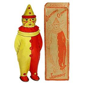 c.1928 Lindstrom, No.122 Johnny Dancing Clown in Original Box