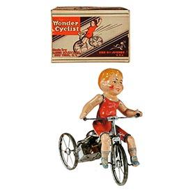 c.1925 Marx, Wonder Cyclist in Original Box